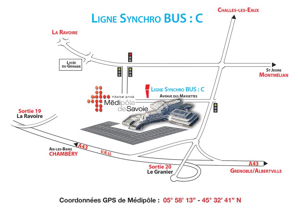 Ligne Bus Synchro C