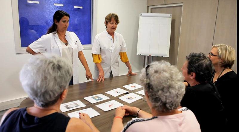 Atelier effets secondaires - programme éducation thérapeutique