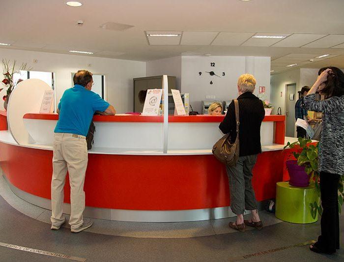 accueil laboratoire analyses médicales du Médipôle