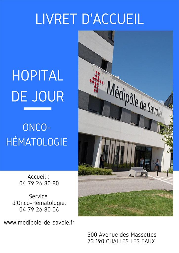 Livret accueil - hôpital de jour - onco-hématologie