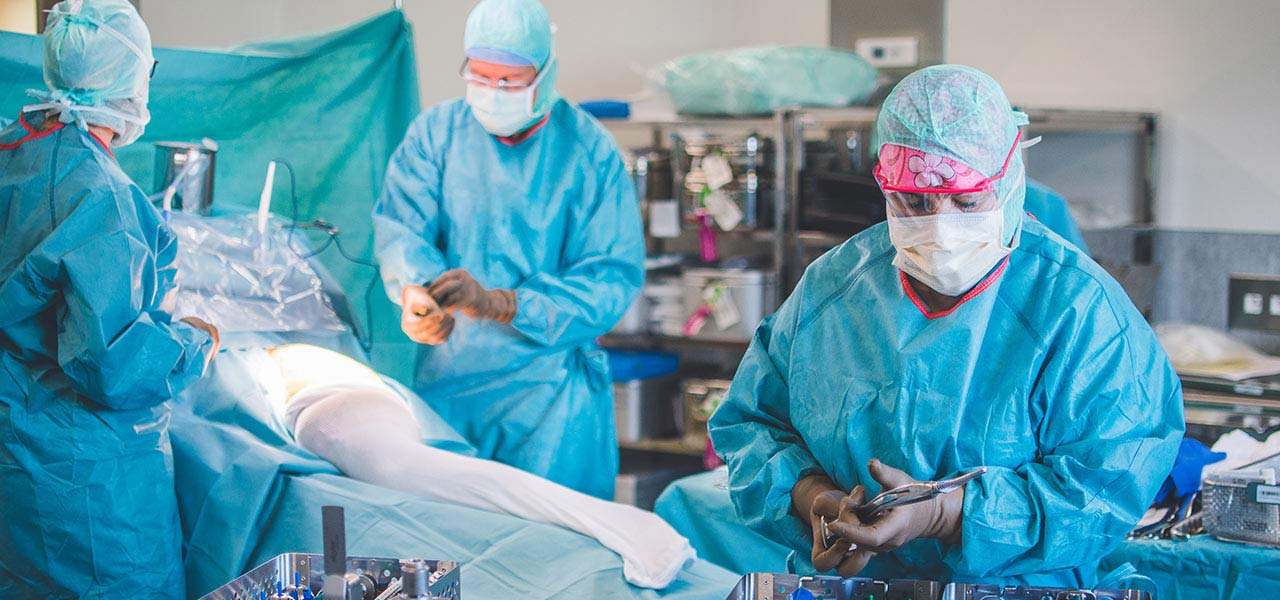 Chirurgie orthopédique - membre inférieur