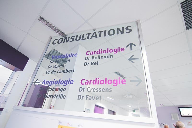 Consultation cardiologie Médipôle Savoie