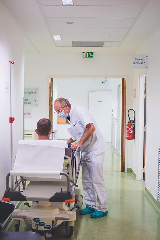 Service des urgences au Médipôle de Savoie
